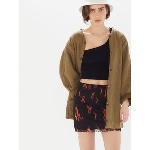 Urban Outfitters Flame Skirt